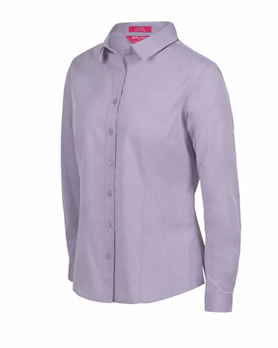 4FC1L LADIES CLASSIC L/S FINE CHAMBRAY SHIRT