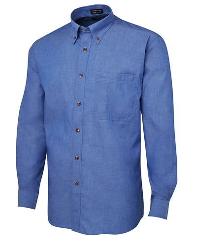4IC JB's L/SLEEVE INDIGO SHIRT