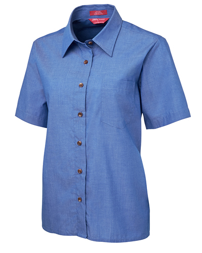 4LICS JB's LADIES S/S INDIGO SHIRT